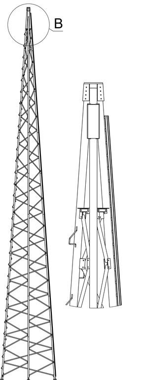 Изготовление вышки ветрогенератора 8