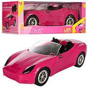 Машинка кабріолет для ляльки типу барбі / Машинка для ляльки Defa, розмір 39 см 8249