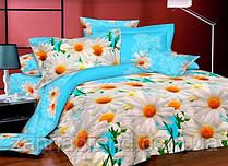 Комплект Двоспального постільної білизни (Пакистан) Ромашки