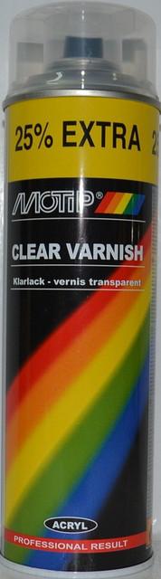 Лак акриловый бесцветный MOTIP 04009