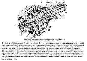 Редуктор пускового двигателя (РПД) Т-150, СМД-60, НОВЫЙ, фото 2