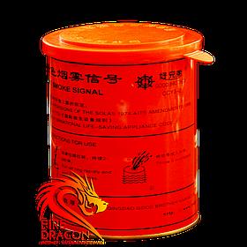 Кольорова димова шашка Smoke Signal, час: 3 хвилини, колір диму: помаранчевий