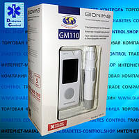 Глюкометр Bionime GM110 / Бионайм ДжиЭм 110 (50 тест-полосок в наборе)