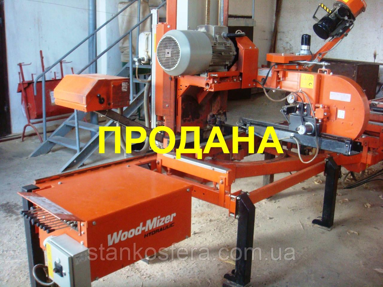 Ленточная пилорама б/у Wood-Mizer LT40 2008 года, цена