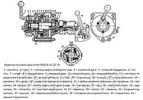 Редуктор пускового двигателя (РПД) А-41, ДТ-75, КапРемонт, фото 2