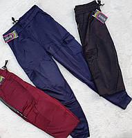 Жіночі брюки з хутряним начосом Jiaxin XL, 2XL.
