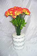 Гвоздика , 4 расцветки, 40 см (200 шт в упаковке)