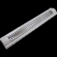 Светильник люминесцентный (ЛПО) ZCFEMCW/40W 2х36 LUMEN ЭПРА с решоткой