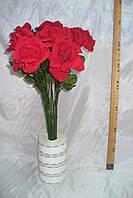 Роза бархат одиночка (40 шт), фото 1