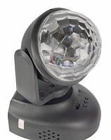 Вращающийся диско шар, проектор для вечеринок Led Beam Moving Head Lighting (Лед Бим Мовинг Хед Лайтинг), фото 1