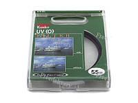 Ультрафиолетовый UV защитный фильтр 55мм Kenko