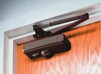 Основные типы дверных доводчиков