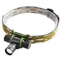 Налобный фонарь Police BL 6660-XPE, zoom, ак.14500, чехол