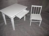"""Детский столик из натурального дерева (комплект """"Белоснежка"""")"""
