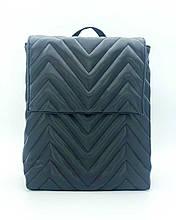 Рюкзак чорний для подорожей жіночий стильний для дівчинки сумка рюкзак трансформер чорного кольору для ноутбука