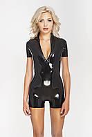 Сексуальный короткий комбинезон с молнией спереди Sexy Short Catsuit Front Zip