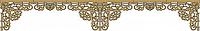 Ажурный Ламбрекен Ампир на мягкой основе, фото 1