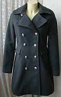Пальто женское модное демисезонное стильное элегантное бренд Bight&Miles р.46 5220