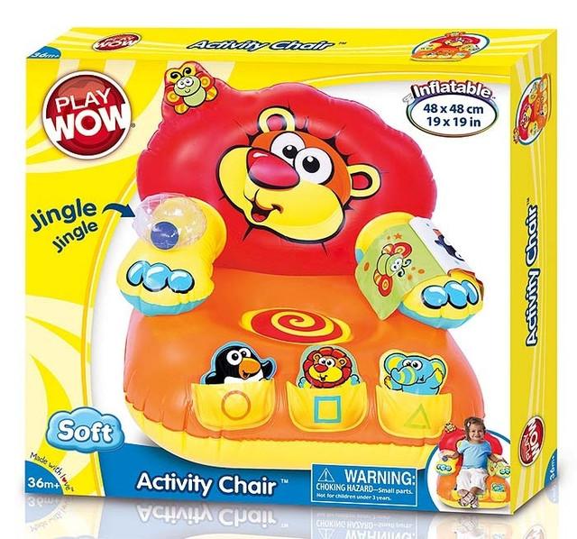 """Активное кресло """"Умный лев"""" Play Wow"""