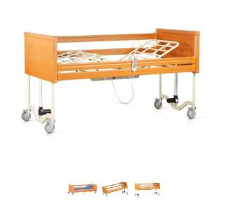 Кровать с электроприводом с металлическим ложем