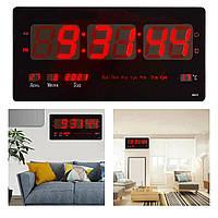 Большие настенные электронные часы CW-4622 (красная подсветка) (1237) GB
