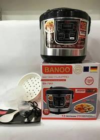 Мультиварка Banoo BN-7001 6 л 1500W 12 програм з йогуртницей і хлібопічкою