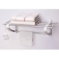 Полка в ванную под полотенца-50 см