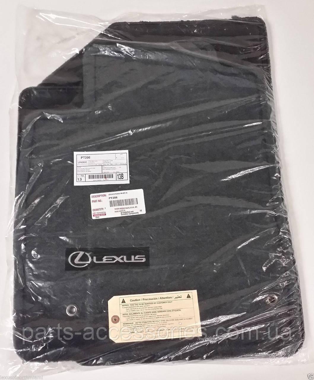 Комплект велюровых ковриков для Lexus ES ES350 2006-12 новые оригинал