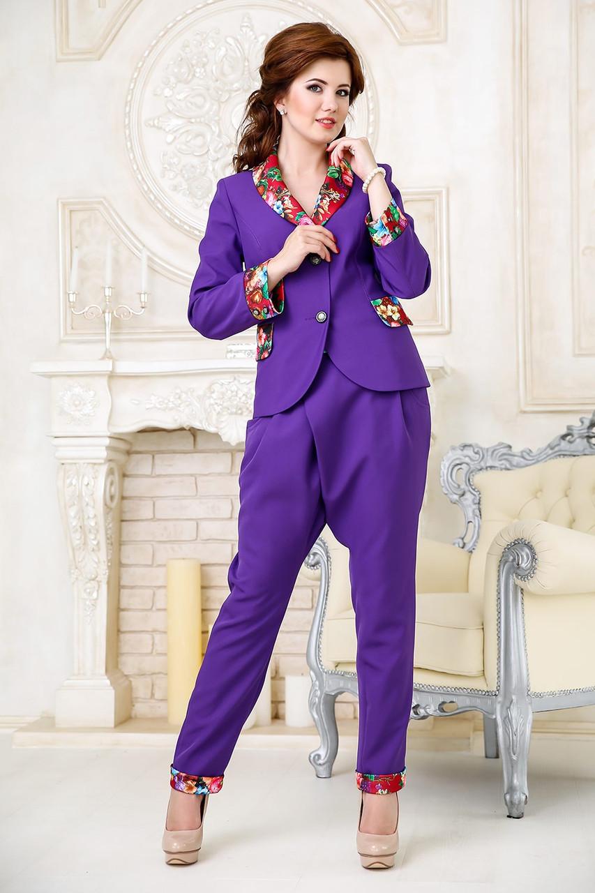 купить стильный деловой женский костюм с юбкой карандаш