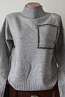 Жіноча кофта з кишенькою