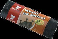 Пакеты для мусора HDPE 35л*50шт. KUCHCIK