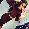 Костюм кофта с гипюром+юбка, фото 3