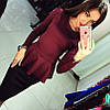 Костюм юбка-карандаш+кофточка с баской, фото 2