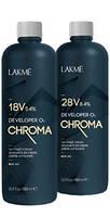 Окислитель для волос 1л Chroma Lakme