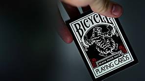 Карты игральные   Bicycle Black Tiger RED, фото 2