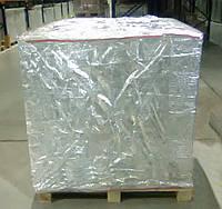 Упаковка из фольги для герметичной изоляции продукции на поддонах, б/у, в отличном состоянии