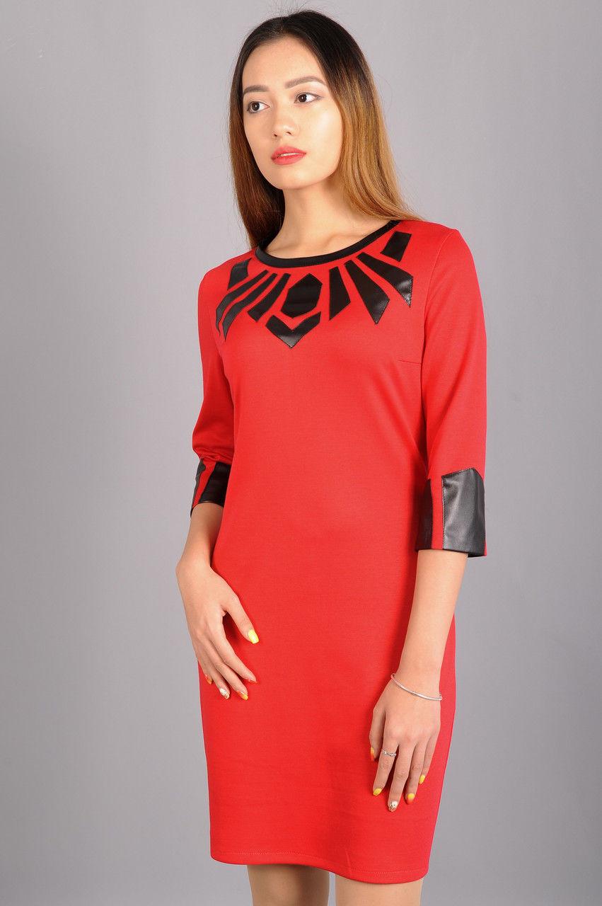 Модное платье в стиле Кензо