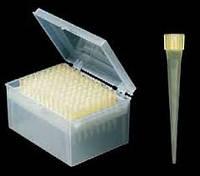 Желтый наконечник для пипеточного дозатора, типа Eppendorf, Brand, Socorex, нестер. 0-200 мкл, 96 шт.в штативе
