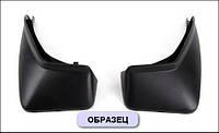 Модельные задние брызговики Mitsubishi Outlander с 2013- / 2шт / цвет:черный / производитель NovLine