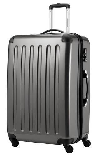 Дорожный 4-колесный чемодан-гигант из поликарбоната 130 л. HAUPTSTADTKOFFER alex maxi titan титановый