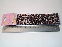 Повязка леопардовой расцветки односторонняя