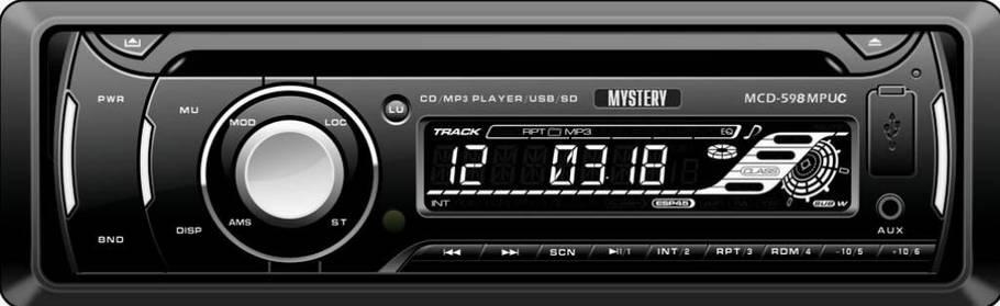 Автомагнитола MYSTERY MCD-598MPUC, фото 2