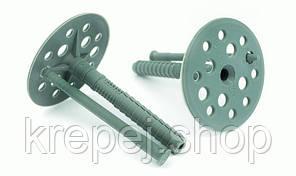 Термодюбель ТД-10 х 80mm (100 шт/упак.) для кріплення термоізоляції з пластиковим цвяхом