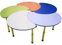 "Комплект столов ""Цветок"" (h=460-580 мм)"