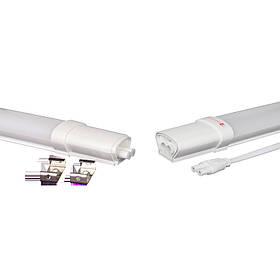 Лінійний Світлодіодний Світильник ПВЗ модульний 40W 120см IP65