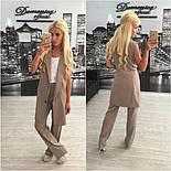 Женский стильный комплект: жилет и брюки в расцветках (+ большие размеры), фото 6