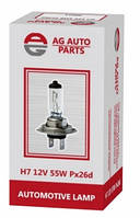 Лампа AG H7 12V 55W PX26D 40143