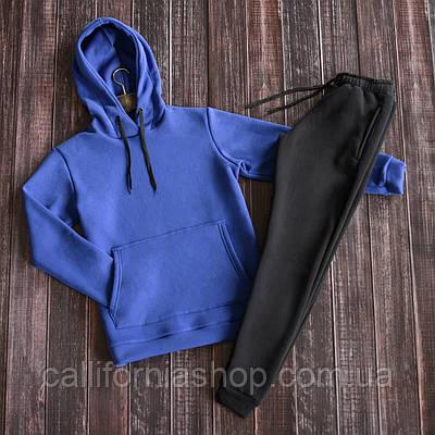 Спортивний костюм жіночий на флісі двійка худі штани теплий
