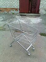 Тележки для супермаркетов, столы презентационные, сетки для европаллет.