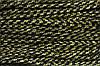 Шнур 5мм (50м) черный + золото